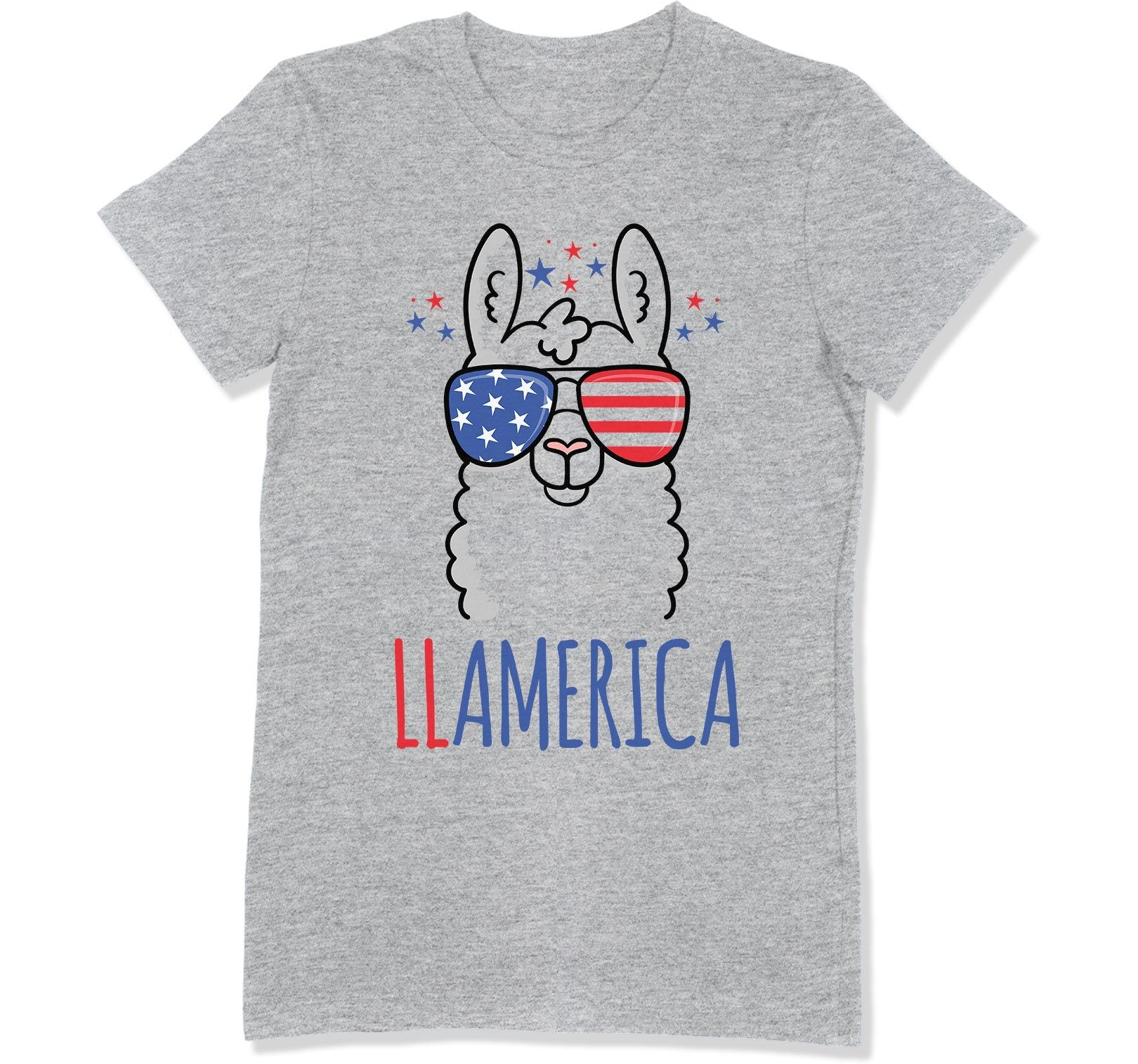 Llamerica Mom T-Shirt - FOJ-20 - GiddyBees