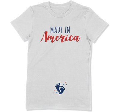 Made In America T-Shirt - FOJ-30 - GiddyBees