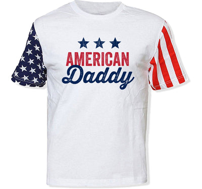 American Daddy T-Shirt - TEP-1218 - GiddyBees