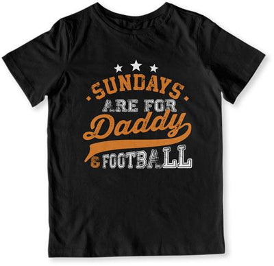 Sundays Are For Daddy & Football - TEP-1350 - GiddyBees