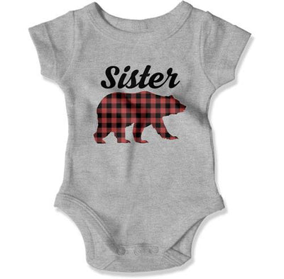 Sister Bear Family Christmas Pajamas - TEP-1860 - GiddyBees