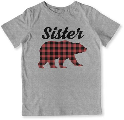 Sister Bear Family Christmas Pajamas