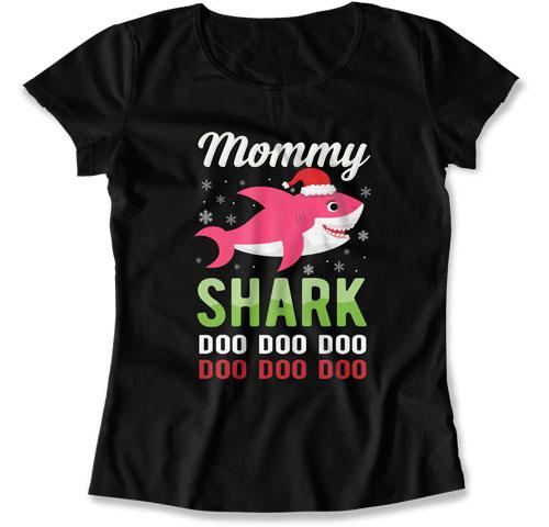 Mommy Shark T-Shirt - TEP-1867 - GiddyBees