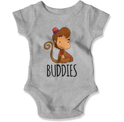 Buddies (MONKEY) Baby Bodysuit - TEP-1952 - GiddyBees