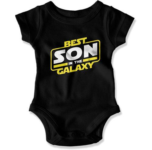 Best Son In The Galaxy Baby Bodysuit - TEP-270 - GiddyBees