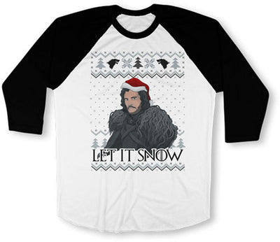 Let It Snow Ugly Xmas Sweater - TEP-646 - GiddyBees