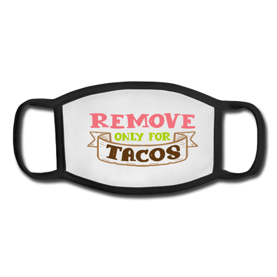 Remove only for tacos - white/black