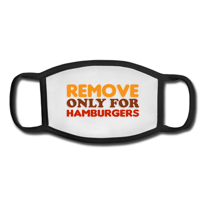 Remove only for Hamburgers - white/black