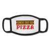 Pizza lover Facemask - white/black