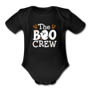 The Boo Crew Baby Bodysuit - black