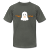 Team Boo - Halloween Men's T-Shirt by Bella + Canvas - asphalt