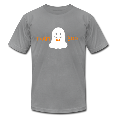 Team Boo - Halloween Men's T-Shirt by Bella + Canvas - slate