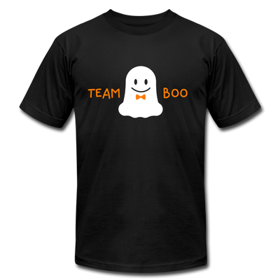 Team Boo - Halloween Men's T-Shirt by Bella + Canvas - black