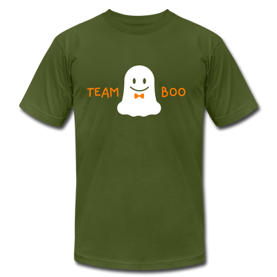 Team Boo - Halloween Men's T-Shirt by Bella + Canvas - olive