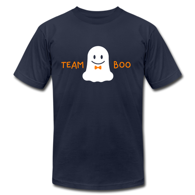Team Boo - Halloween Men's T-Shirt by Bella + Canvas - navy