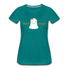 Team Ghoul - Halloween Women's Premium T-Shirt - teal