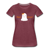 Team Ghoul - Halloween Women's Premium T-Shirt - heather burgundy