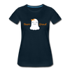 Team Ghoul - Halloween Women's Premium T-Shirt - deep navy