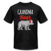Grandma Bear Christmas Unisex Shirt - black