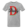 Daddy Christmas Family Shirt - MCS-01 - heather gray