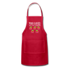 Customized Nana Clauses Little Elves Apron - red