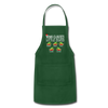 Customized Nana Clauses Little Elves Apron - forest green