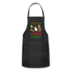 I'm In Love With The Shape Of You Christmas Apron - black
