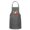 I'm In Love With The Shape Of You Christmas Apron - charcoal