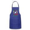I'm In Love With The Shape Of You Christmas Apron - royal blue