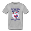 Merry & Masked Custom Family Toddler Tee - heather gray