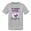 Merry & Masked Custom Youth Tee - heather gray
