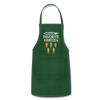 Custom Favorite Batch Gingerbread Apron - forest green