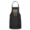 Grandma's Favorite Batch Gingerbread Apron - black