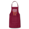 Grandma's Favorite Batch Gingerbread Apron - burgundy