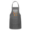 Grandma's Favorite Batch Gingerbread Apron - charcoal