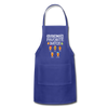 Grandma's Favorite Batch Gingerbread Apron - royal blue