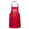 Grandma's Favorite Batch Gingerbread Apron - red