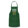 Grandma's Favorite Batch Gingerbread Apron - forest green
