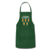Customized Mimi Gingerbread Christmas Apron - forest green