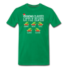 Grandma Clauses Little Elves Customized Shirt - kelly green