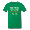Nana Clauses Little Elves Customized Shirt - kelly green