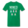 Mimi's Little Snowmen Customized Unisex Shirt - kelly green