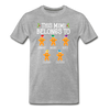 This Mimi Belongs To Custom Gingerbread Unisex Shirt - heather gray