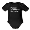 Funny Christmas Movie Quote Fuller Baby Bodysuit - black