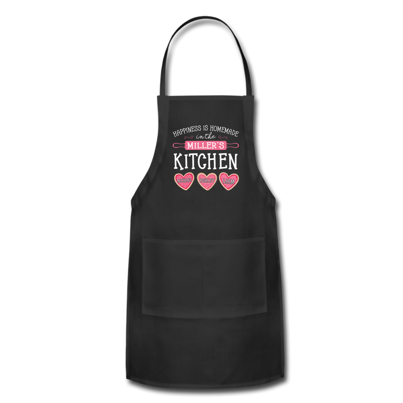 Happiness Is Homemade Personalized Grandma Apron