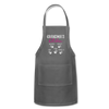 Personalized Grandmas Kitchen Kids' Name Apron - charcoal