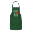 Personalized Mexican Mom Apron - forest green