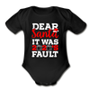 Dear Santa It Was 2020's Fault Matching Shirts