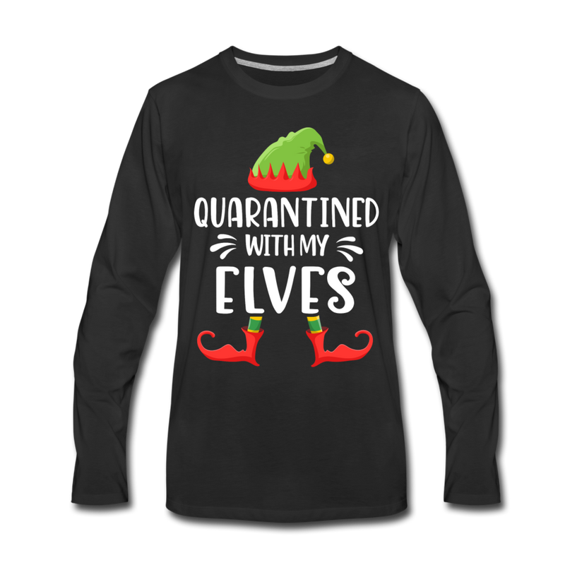 Quarantined With My Elves Matching Long Sleeve Shirts