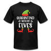 Quarantined With My Elves - Adult Tee - black